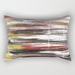 Raisin black abstract watercolor Rectangular Pillow