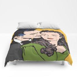 Rhett Butler and Scarlett O'Hara Comforters