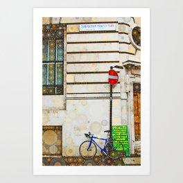 Old Queen Street - London Art Print