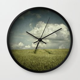 landscape minimalism Wall Clock