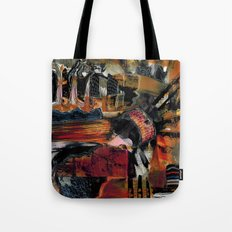 Disintegration 1 Tote Bag