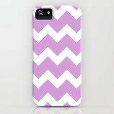 Chevron - Lavender iPhone (5, 5s) Slim Case