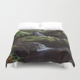 Jungle Waterfall Duvet Cover