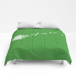 Escape from the dandeLION Comforters
