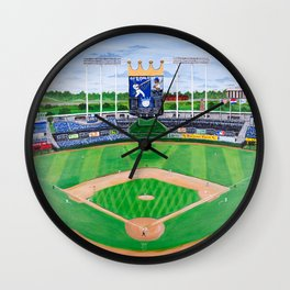 An Amazing Game at the K Wall Clock