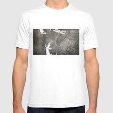 Lost City 2 Mens Fitted Tee White MEDIUM