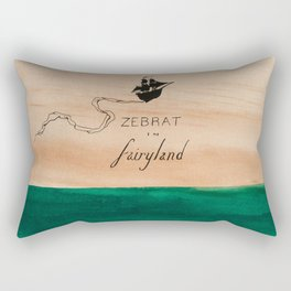 Zebrat in Fairyland - Album Art Rectangular Pillow