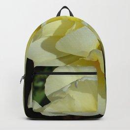 Double Cream Tulip by Teresa Thompson Backpack
