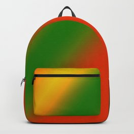 red green yellow texture art Backpack