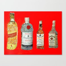Glam Bar Canvas Print