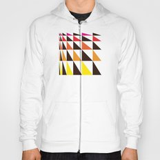 Red Yellow Triangle Pattern Hoody