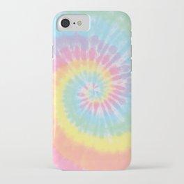 Pastel Tie Dye iPhone Case