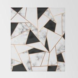 Marble III 003 Throw Blanket