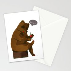 Mrs. Bear Stationery Cards
