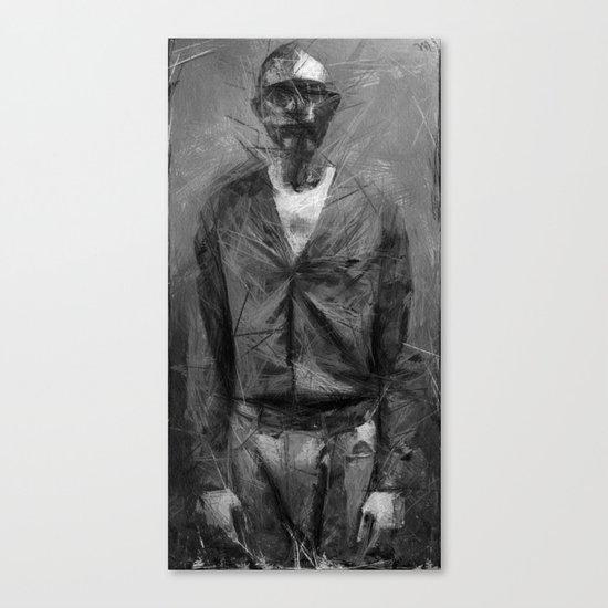 chant of a poor man Canvas Print