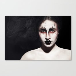 The black lips!  Canvas Print