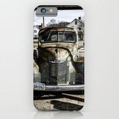 Vintage pickup truck iPhone 6s Slim Case