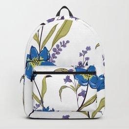Bright Blue Graden Backpack