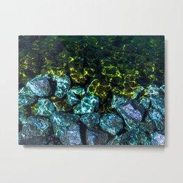 Water Stoppers Metal Print