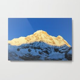 Annapurna sunrise Metal Print