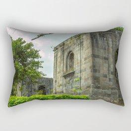 Santiago Apóstol Parish Ruins Rectangular Pillow