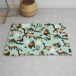 Martens of the World 2 Rug