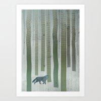 hunter Art Prints featuring Hunter by Angelo Cerantola