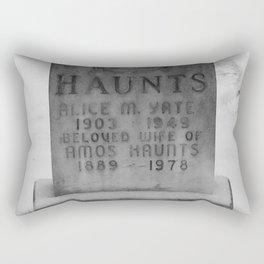 Resting Haunts Rectangular Pillow