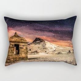 Deep Midwinter Rectangular Pillow