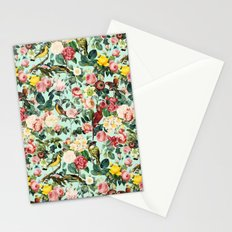 Floral and Birds III Stationery Cards