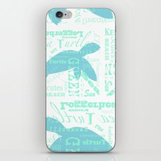 Abstract Sea Turtle iPhone & iPod Skin