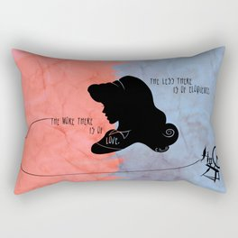 The More There is Of Love Rectangular Pillow