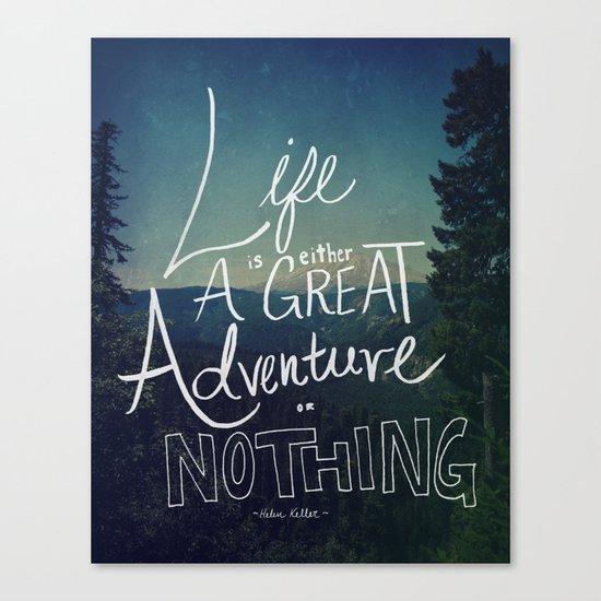 Great Adventure II Canvas Print