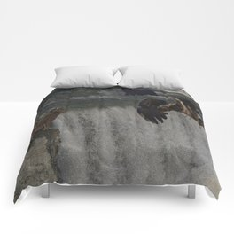 The Gathering Place - Wildlife Scene Comforters