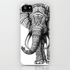 Ornate Elephant Slim Case iPhone (5, 5s)