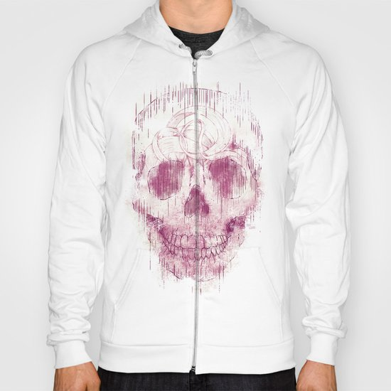 skeleton head Hoody