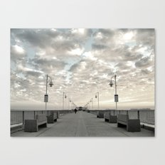 Pier Break Canvas Print