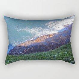 Sea Lion Caves Rectangular Pillow