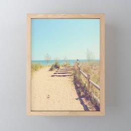 AFE Gibraltar Point Beach Framed Mini Art Print