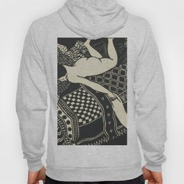 Woman With Cat Hoody