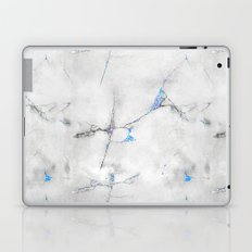 Blue Cracked Design Laptop & iPad Skin