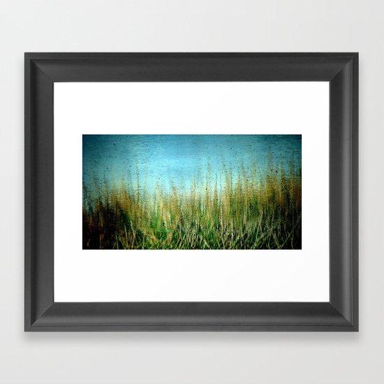 Disturbance Framed Art Print