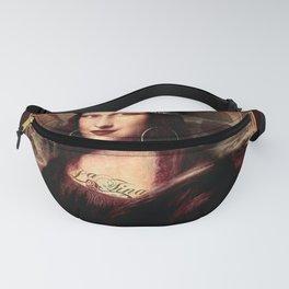 Chicana Mona Lisa Fanny Pack
