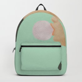 Blowing Bubble Gum Backpack