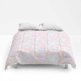 Pastel Dancing Floweres Comforters