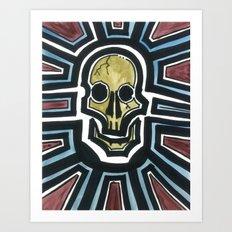 Sovereign Skull Art Print