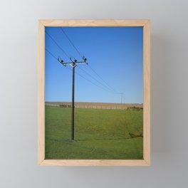 PARALLEL LINES Framed Mini Art Print