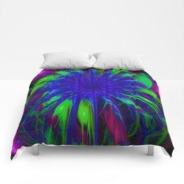 Fiesta Flower II Comforters