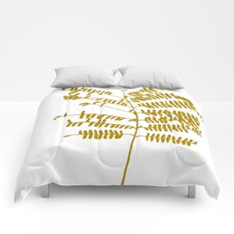 Golden Leaf #Minimal Comforters