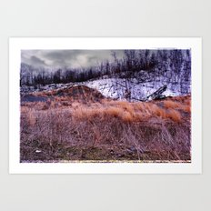 Up on the Mountain Art Print
